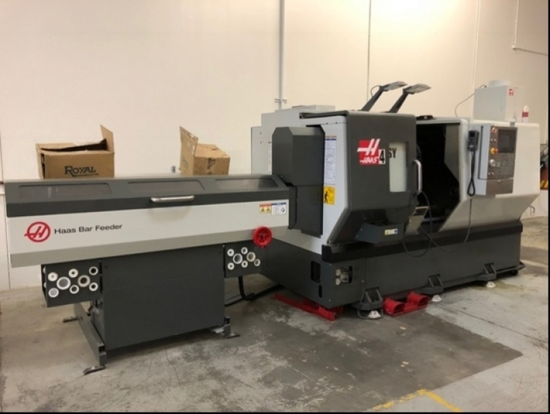 haas ds-30ssy multi-axis cnc lathe