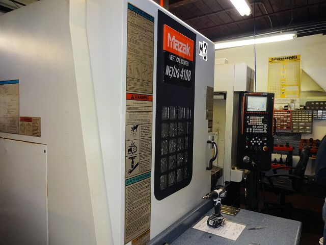 MAZAK NEXUS VCN-410B VERTICAL MACHINING CENTER