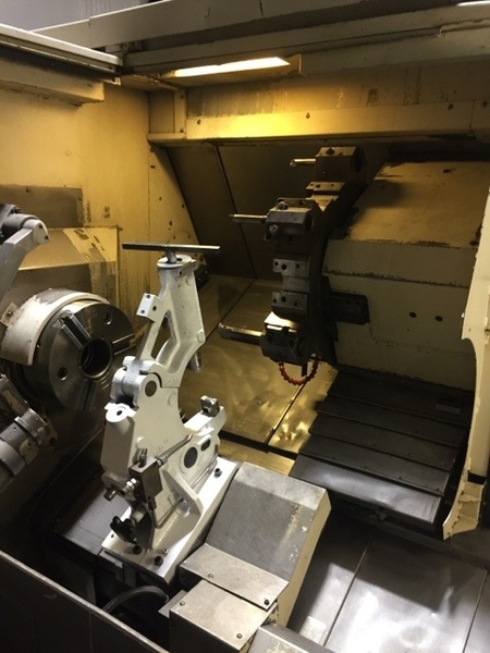 Mazak Qtn 350 Cnc Turning Center