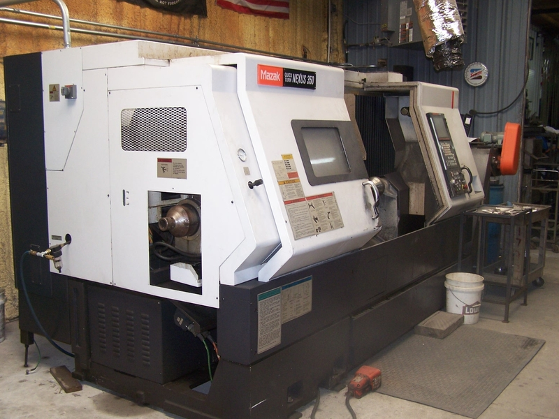 Mazak Qtn 350 Ii Cnc Turning Center