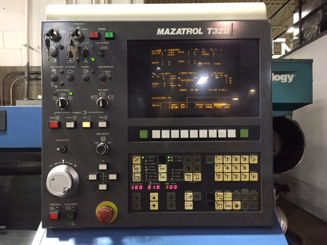 mazak quick turn 18n cnc lathe rh ccmachinetools com Mazak Warning Information Mazak Programming